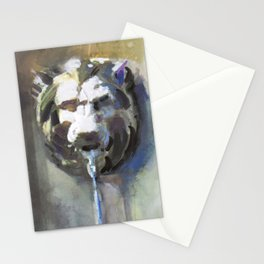 Lionhead Fountain Stationery Cards