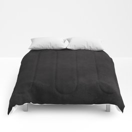 Simple Chalkboard background- black - Autum World Comforters