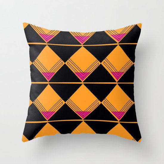 Scotch on the Rox Throw Pillow