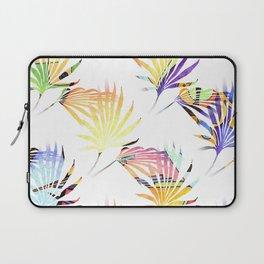 Vibrant Jungle Palmetto Fronds Laptop Sleeve
