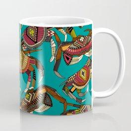 crabs teal Coffee Mug