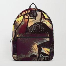Samurai Jack Zentangle Backpack