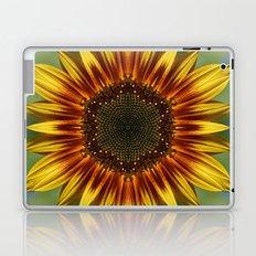 Sunflower Kaleidoscope Laptop & iPad Skin