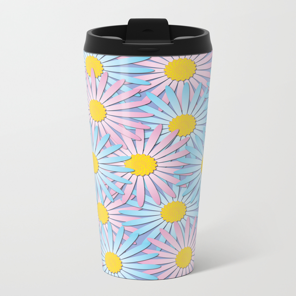 Spring Daisies Travel Cup TRM8713078