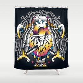 Aquarius - Eleventh of the Zodiac Shower Curtain