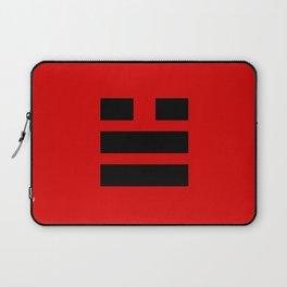 I Ching Yi jing - symbol of 兌Duì Laptop Sleeve