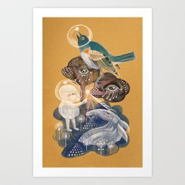 Sharing the Light Art Print
