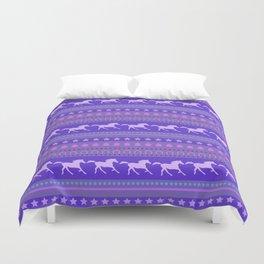 Horse Pattern Duvet Cover