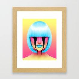 pineapple sweat Framed Art Print