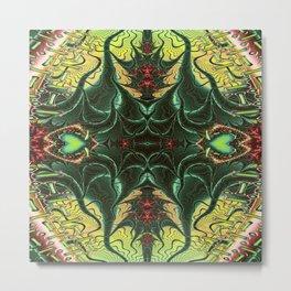 Marooned Symmetrical Abstract Metal Print