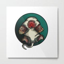 Star-nosed Mole Metal Print