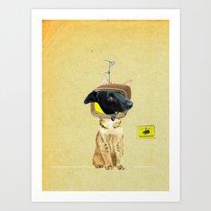 CatDog ? Art Print