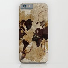 Map Stains Slim Case iPhone 6