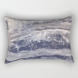 Grungy gray faux marble Rectangular Pillow