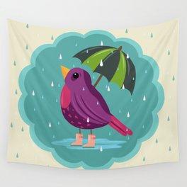 Rainy Days Are Still Good Days Wall Tapestry