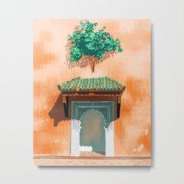 Mughul Entrance #painting #travel Metal Print