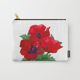 Red oriental poppies Carry-All Pouch