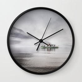 Next Stop Howtown Wall Clock