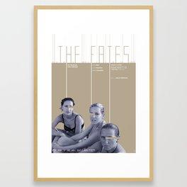 THE FATES Framed Art Print