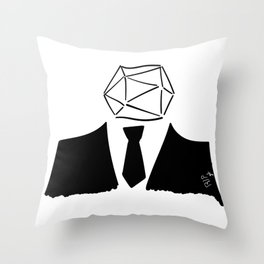 RIPgdr Throw Pillow