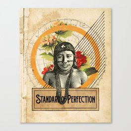 Standard of Perfection Canvas Print