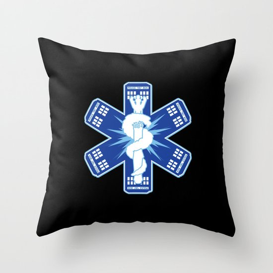 The Doctors Association Throw Pillow