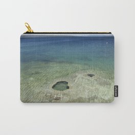 Blue Water Lake at Yellowstone National Park Carry-All Pouch