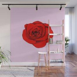 Red Rose. Wall Mural