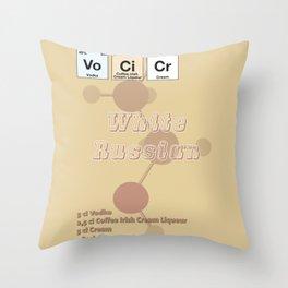 White Russian Throw Pillow