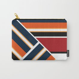 Retro . Combined stripes . Carry-All Pouch