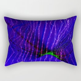 Cyberdelic Reality Rectangular Pillow