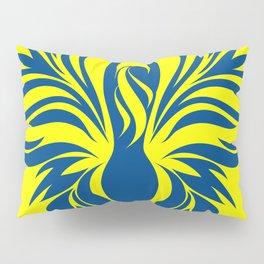 Aura Wings (Maize & Blue) Pillow Sham