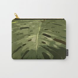 Monstera Leaf Carry-All Pouch