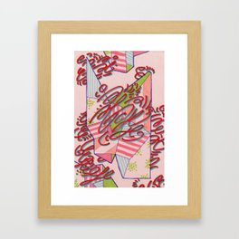 Wallpaper proposal (central stairway (& adjoining areas)) Framed Art Print