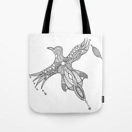 Nothing is just black or white Tote Bag