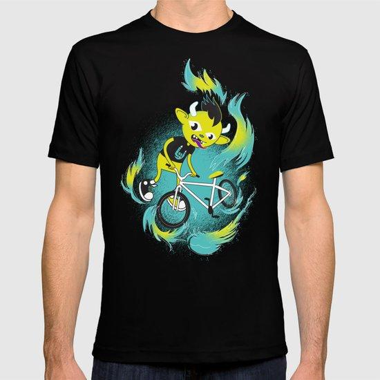 Monster Pixie Riding a Fixie T-shirt