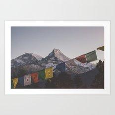 Nepal XVII Art Print