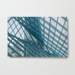 Seattle Public Library Metal Print