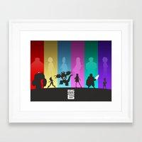 big hero 6 Framed Art Prints featuring The Big Hero 6 by Travis Love