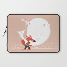 Fox and Whale Laptop Sleeve