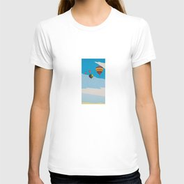 Four Hot Air Balloons T-shirt