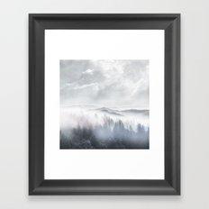 Magic in the Clouds V Framed Art Print