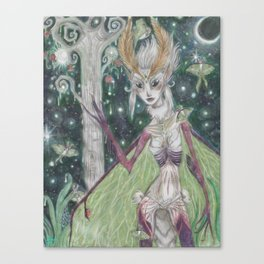 Queen of the Lunas Canvas Print