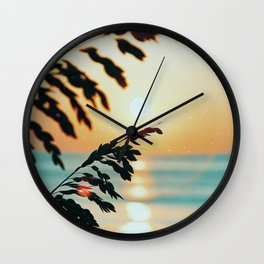 OBX sunrise Wall Clock