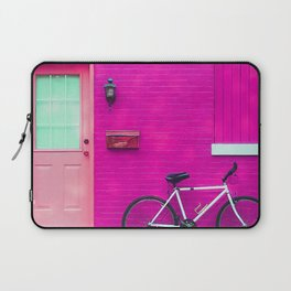 fuchsia house Laptop Sleeve