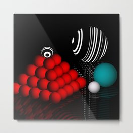 ball pyramid -c- Metal Print