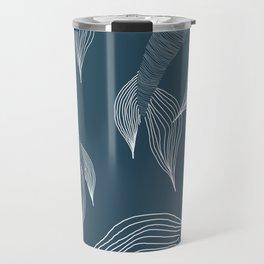 blue mermaid tails Travel Mug