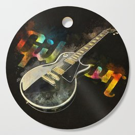 Come on Feel the Noise (Gibson Lp) Cutting Board