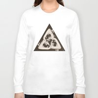 triangle Long Sleeve T-shirts featuring TRIANGLE by Ali GULEC