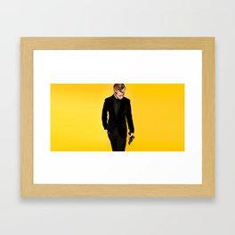 MR OCEAN Framed Art Print